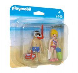 PLAYMOBIL -  COUPLE DE VACANCIERS 9449