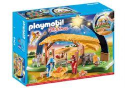 PLAYMOBIL -  CRÈCHE AVEC ILLUMINATION 9494
