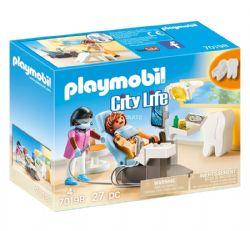 PLAYMOBIL -  DENTISTE (27 PIÈCES) 70198