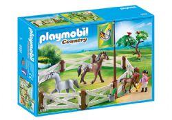 PLAYMOBIL -  ENCLOS AVEC CHEVAUX 6931