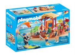 PLAYMOBIL -  ESPACE DE SPORTS NAUTIQUES (73 PIÈCES) 70090