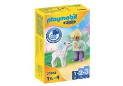 PLAYMOBIL -  FÉE AVEC FAON 70402
