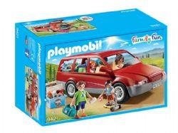 PLAYMOBIL -  FAMILLE AVEC VOITURE 9421