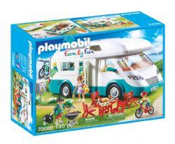 PLAYMOBIL -  FAMILLE ET CAMPING-CAR (135 PIÈCES) 70088
