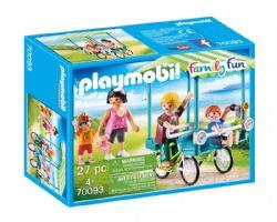 PLAYMOBIL -  FAMILLE ET ROSALIE (27 PIÈCES) 70093