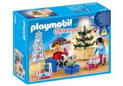 PLAYMOBIL -  FAMILLE ET SALON DE NOËL 9495
