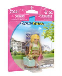 PLAYMOBIL -  FEMME AVEC CHIHUAHUA (6 PIÈCES) 70241