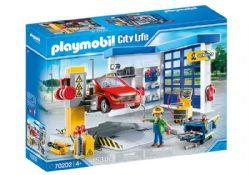 PLAYMOBIL -  GARAGE AUTOMOBILE (153 PIÈCES) 70202
