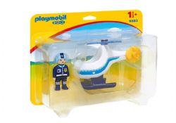 PLAYMOBIL -  HÉLICOPTÈRE DE POLICE 9383