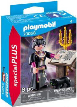 PLAYMOBIL -  MAGICIENNE ET GRIMOIRE (8 PIÈCES) 70058