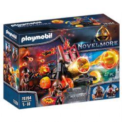 PLAYMOBIL -  NOVELMORE - CATAPULTE À LAVE DES BURNHAM RAIDER (47 PIÈCES) 70394 70394