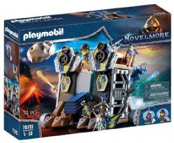 PLAYMOBIL -  NOVELMORE - TOUR D'ATTAQUE MOBILE DES CHEVALIERS (74 PIÈCES) 70391 70391