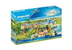 PLAYMOBIL -  PARC ANIMALIER (213 PIÈCES) 70341