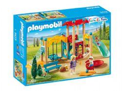 PLAYMOBIL -  PARC DE JEU AVEC TOBOGGAN 9423