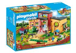 PLAYMOBIL -  PENSION DES ANIMAUX 9275