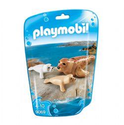 PLAYMOBIL -  PHOQUE ET SES PETITS 9069