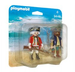 PLAYMOBIL -  PIRATE ET SOLDAT 9446