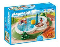 PLAYMOBIL -  PISCINE AVEC DOUCHE 9422