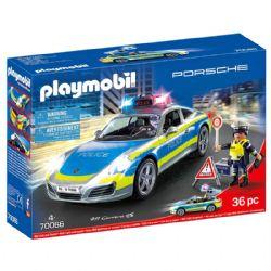 PLAYMOBIL -  PORSCHE 911 CARRERA 4S POLICE 70066