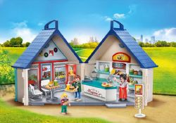 PLAYMOBIL -  RESTAURANT TRANSPORTABLE 70111