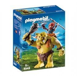 PLAYMOBIL -  TROLL GÉANT ET SOLDAT NAIN 9343