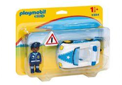 PLAYMOBIL -  VOITURE DE POLICE 9384