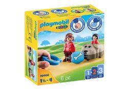 PLAYMOBIL -  WAGON CHIEN 70406