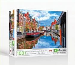 PLUS1PUZZLE -  AMSTERDAM (1001 PIÈCES)
