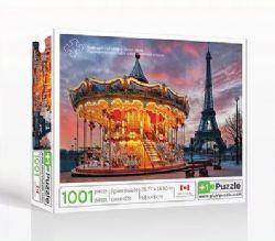 PLUS1PUZZLE -  MANÈGE À PARIS (1001 PIÈCES)