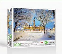 PLUS1PUZZLE -  PARLEMENT DU CANADA, OTTAWA (1001 PIÈCES)