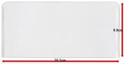 POCHETTES DE PROTECTION -  POCHETTES LARGES POUR BILLETS (PAQUET DE 10) (8.8 CM X 20.2 CM)