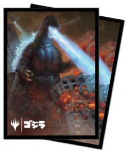 POCHETTES TAILLE STANDARD -  - 100 - GODZILLA KING OF MONSTERS -  MTG
