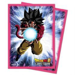 POCHETTES TAILLE STANDARD -  DRAGON BALL SUPER - 65 - SUPER SAIYAN 4 GOKU -  DRAGON BALL SUPER