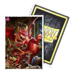 POCHETTES TAILLE STANDARD -  DRAGON SHIELDS - 100 - DRAGON CUPIDON - ART MAT