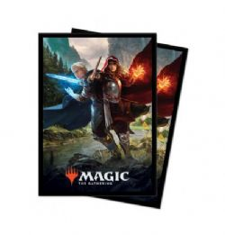 POCHETTES TAILLE STANDARD -  MTG THRONE OF ELDRAINE - THE ROYAL SCIONS (100)