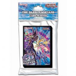 POCHETTES TAILLE YU-GI-OH! -  50 CARTES -  DARK MAGICIAN