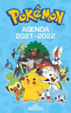 POKÉMON -  AGENDA 2021-2022 (COUVERTURE BLEU)