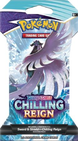POKÉMON -  BLISTER - BOOSTER PACK (P10) (ANGLAIS) -  CHILLING REIGN