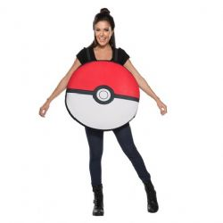 POKÉMON -  COSTUME DE POKÉBALL GÉANTE (ADULTE - TAILLE UNIQUE)