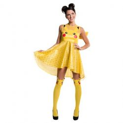 POKÉMON -  COSTUME DE ROBE PIKACHU (ADULTE)