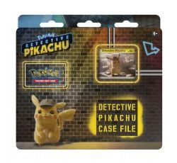 POKÉMON -  DETECTIVE PIKACHU CASE FILE (3 PAQUETS + JETON + ACCESSOIRES) -  DETECTIVE PIKACHU