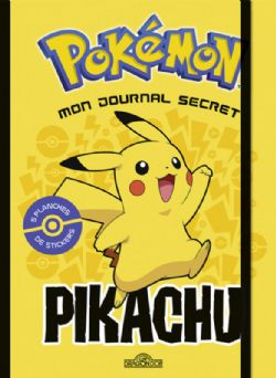 POKÉMON -  MON JOURNAL SECRET PIKACHU