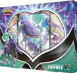 POKÉMON -  SHADOW RIDER CALYREX V BOX (ANGLAIS) **LIMITE 1 PAR CLIENT**
