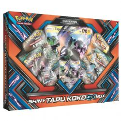 POKÉMON -  SHINY TAPU KOKO GX BOX (ANGLAIS)