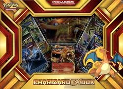 POKÉMON XY -  ENSEMBLE CHARIZARD EX BOX (4P10 + 2 CARTE PROMO)