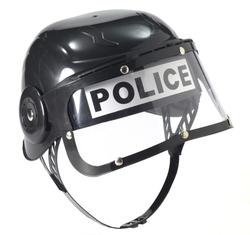 POLICIERS ET BANDITS -  CASQUE DE POLICE (ENFANT) - NOIR