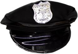 POLICIERS ET BANDITS -  CASQUETTE DE POLICIER - NOIR