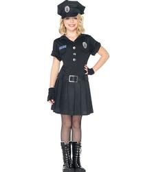 POLICIERS ET BANDITS -  COSTUME D'OFFICIER DE POLICE (ENFANT)