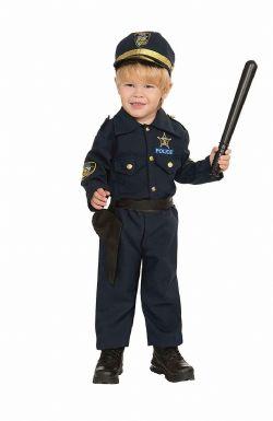 POLICIERS ET BANDITS -  COSTUME DE POLICIER (ENFANT - TOUT PETIT 2-4)
