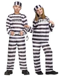 POLICIERS ET BANDITS -  COSTUME DE PRISONNIER (ENFANT)